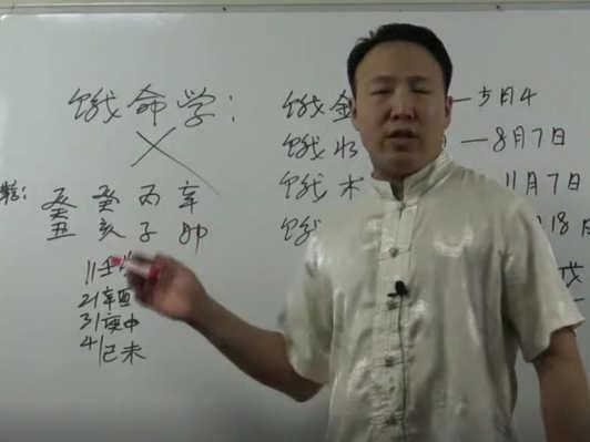 正确学习四柱八字方法