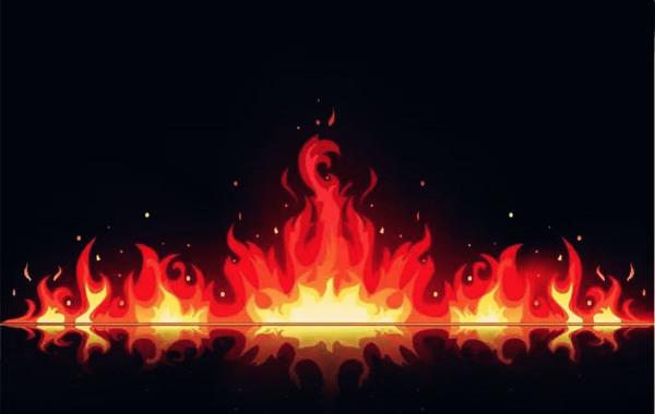 八字纳音全是火
