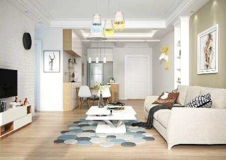 客厅地板什么颜色风水好