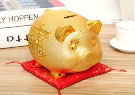金猪存钱罐摆放风水