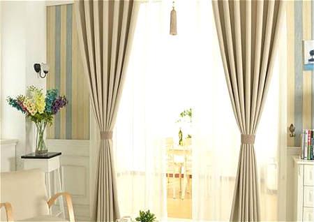 卧室窗帘什么颜色风水好