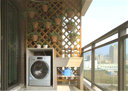 阳台放洗衣机的风水讲究