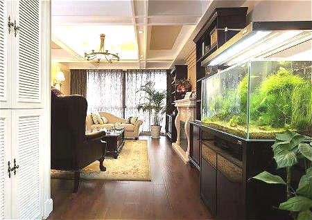 客厅鱼缸风水布局