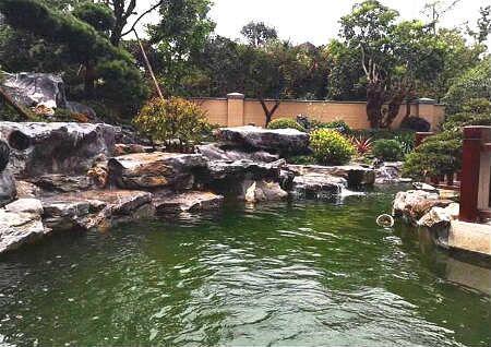 庭院池塘风水