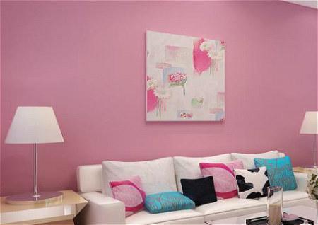 客厅壁纸风水