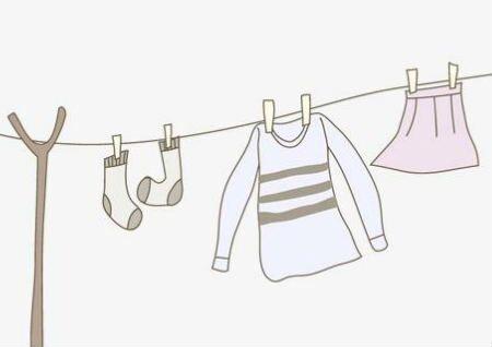 晾衣服的风水