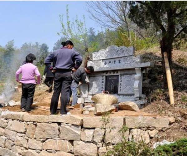 农村看坟地绝招