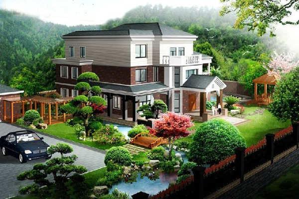 住宅庭院内的植物风水