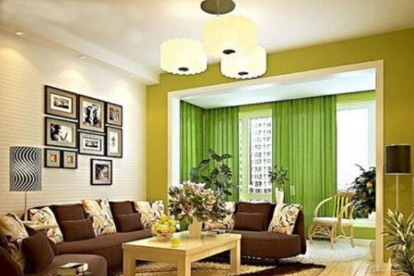 客厅朝向与色彩的搭配讲究